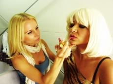 Na zdravje, make up z Brigito Štempelj