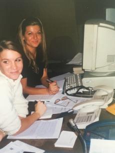 S kolegico Petro Kovič na Valu 202, 2002