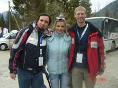 Snemanje Tursitike v Planici, marec 2006 (Jure Mastnak, Franci Pavšar ml.)