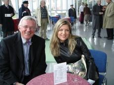 Z urednikom oddaje Dragom Bulcem, Gospodarsko razstavišče 2006